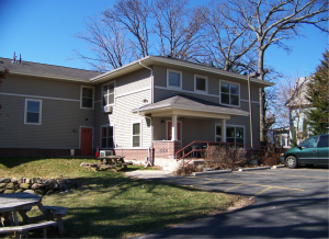 The Ruskin House, one of Housing Initiatives' properties, has won both local and national awards for providing housing first to individuals who are homeless and mentally ill in Madison. Photo Courtesy of Housing Initiatives.