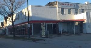 The new building for the homeless day center. (Jason Millis)